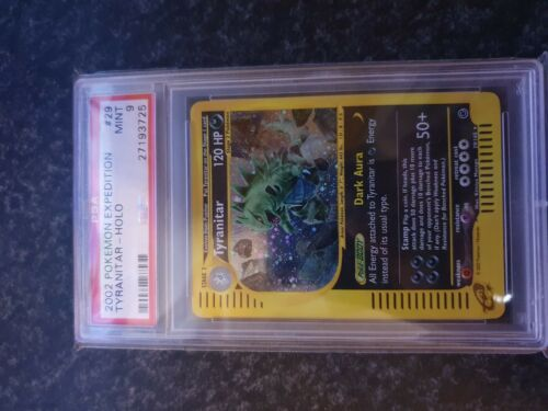 Pokemon Psa 9 Tyranitar Holo Expedition E SERIES