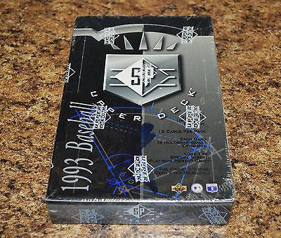 1993 Upper Deck SP Baseball FACTORY SEALED UNOPENED Box  DEREK JETER ROOKIEs