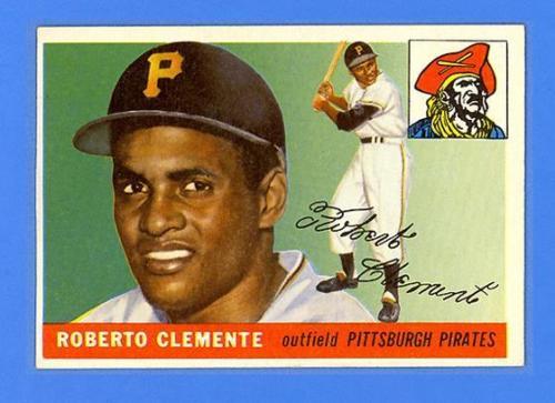 ROBERTO CLEMENTE 1955 TOPPS 164  RC  HI   PIRATES  TREMENDOUS SHARP