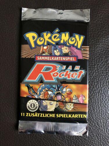 Pokemon Booster Team Rocket  1 Edition Ungewogen  Heavy  PSA  OVP