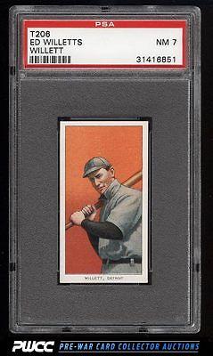 190911 T206 Ed Willett BAT ON SHOULDER PSA 7 NRMT PWCC