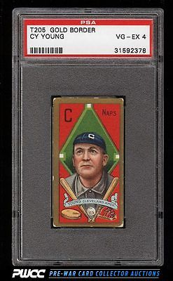 1911 T205 Gold Border Cy Young PSA 4 VGEX PWCC