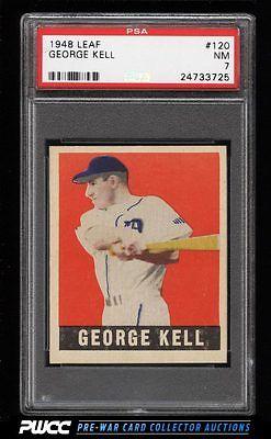 1948 Leaf George Kell SP ROOKIE RC 120 PSA 7 NRMT PWCC