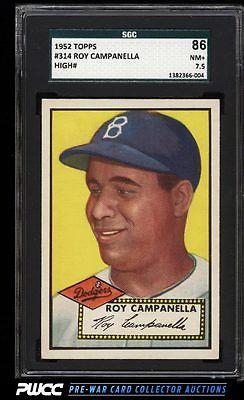 1952 Topps Roy Campanella 314 SGC 7586 NRMT PWCC