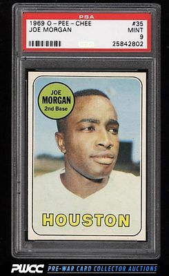 1969 OPeeChee Joe Morgan 35 PSA 9 MINT PWCC