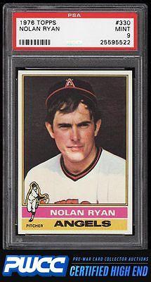 1976 Topps Nolan Ryan 330 PSA 9 MINT PWCCHE