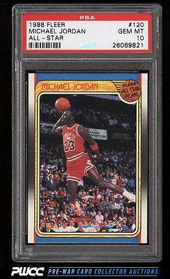 1988 Fleer Basketball Michael Jordan 120 PSA 10 GEM MINT PWCC