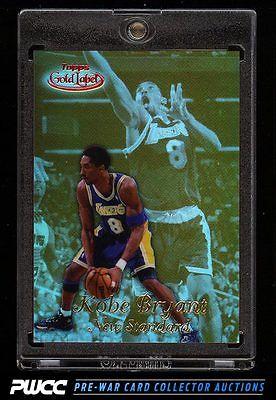 1998 Topps Gold Label Red New Standard Kobe Bryant 125 NS4 PWCC
