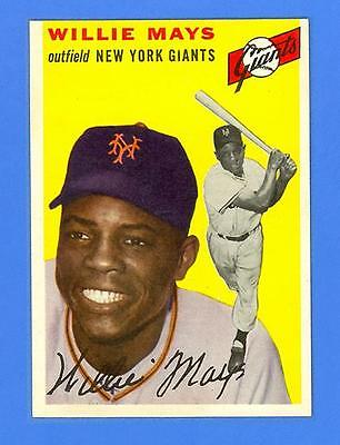 WILLIE MAYS 1954 TOPPS 90  NEW YORK GIANTS  MINT CONDITION