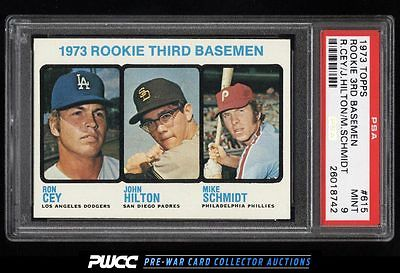 1973 Topps Mike Schmidt ROOKIE RC 615 PSA 9 MINT PWCC
