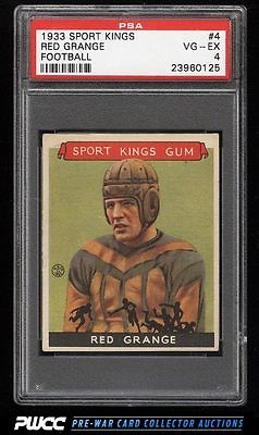 1933 Goudey Sport Kings Red Grange FOOTBALL 4 PSA 4 VGEX PWCC