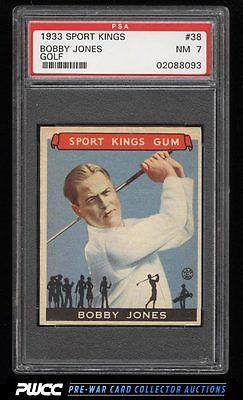 1933 Goudey Sport Kings Bobby Jones GOLF 38 PSA 7 NRMT PWCC