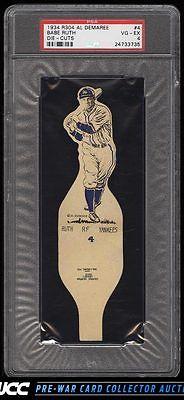 1934 R304 AL DeMaree DieCuts Babe Ruth 4 PSA 4 VGEX PWCC