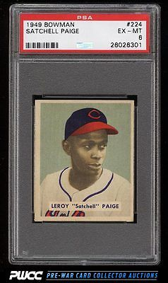1949 Bowman Satchell Paige ROOKIE RC 224 PSA 6 EXMT PWCC