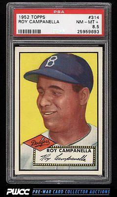 1952 Topps Roy Campanella 314 PSA 85 NMMT PWCC