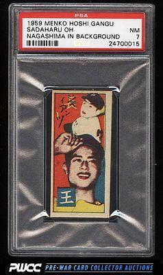 1959 Menko Hoshi Gangu Sadaharu Oh PSA 7 NRMT PWCC