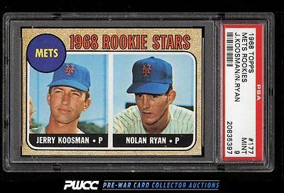 1968 Topps SETBREAK Nolan Ryan ROOKIE RC 177 PSA 9 MINT PWCC