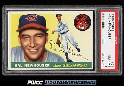 1955 Topps Hal Newhouser 24 PSA 8 NMMT PWCC