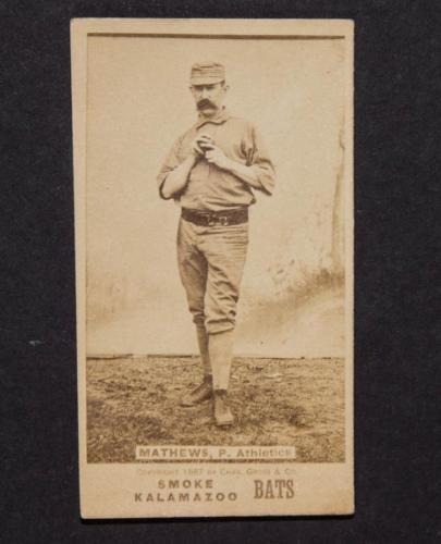 1887 KALAMAZOO BATS N690 BASEBALL CARD Lot 2