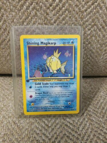 Holo Shining Magikarp  6664  Neo Revelations Pokemon Card  NP 1st Edition