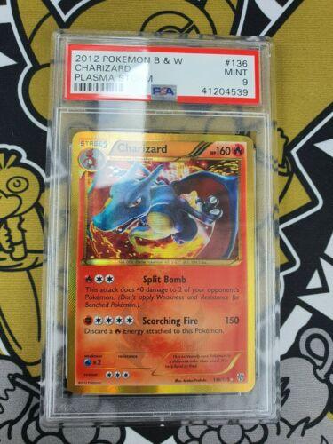 Charizard Glurak Holo 136135 Plasma Storm Sturm PSA 9 Mint Pokemon