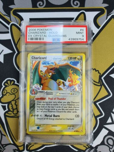 Charizard Glurak EX Crystal Guardians Holo PSA 9 Pokemon