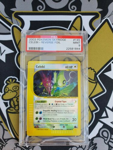 Celebi Crystal Skyridge Rev Foil PSA 9 Mint Pokemon