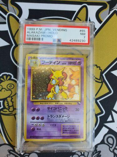 Alakazam Simsala Masaki Promo Holo PSA 7 Pokemon
