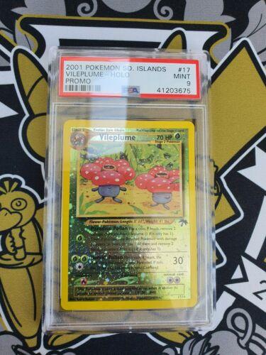 Vileplume Giflor Southern Island Holo PSA 9 Pokemon