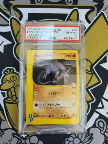 Aerodactyl VS Series First Edition PSA 10 Gem Mint Pokemon