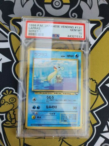 Lapras Vending Series 2 PSA 10 Gem Mint Pokemon