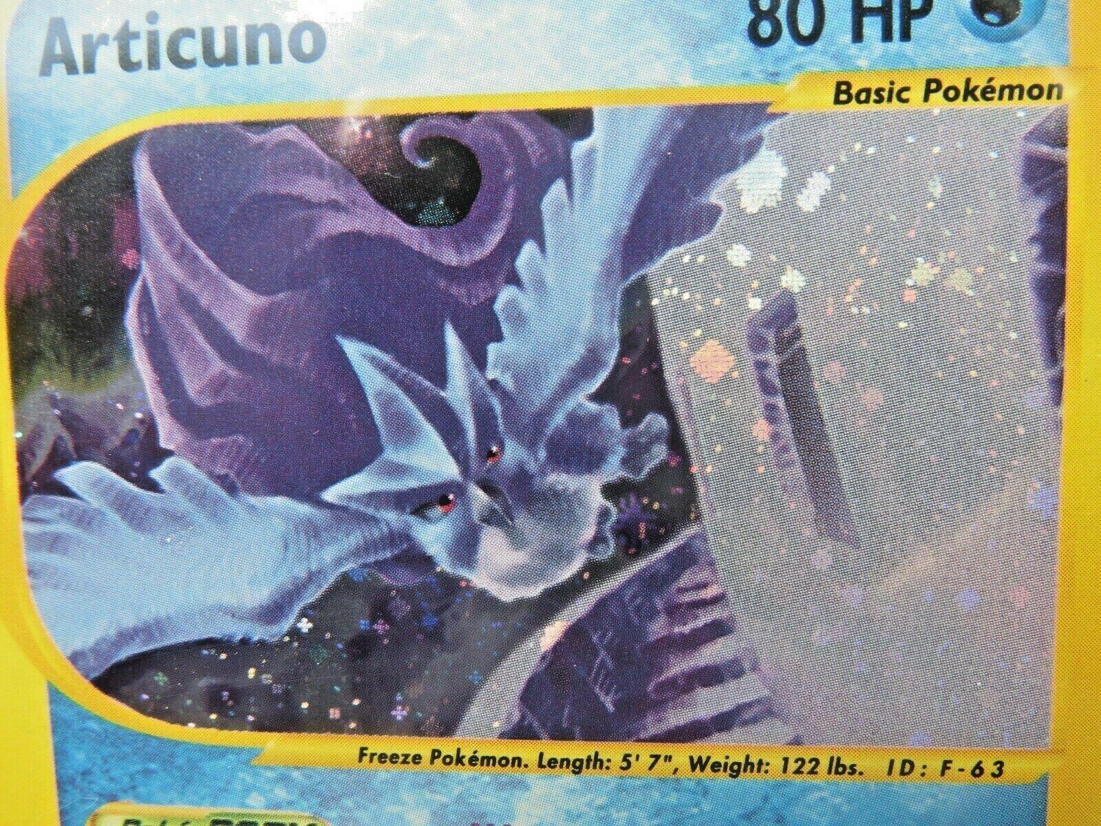 Pokemon Card  Skyridge Holo H2 Articuno PSA 10 Gem Mint