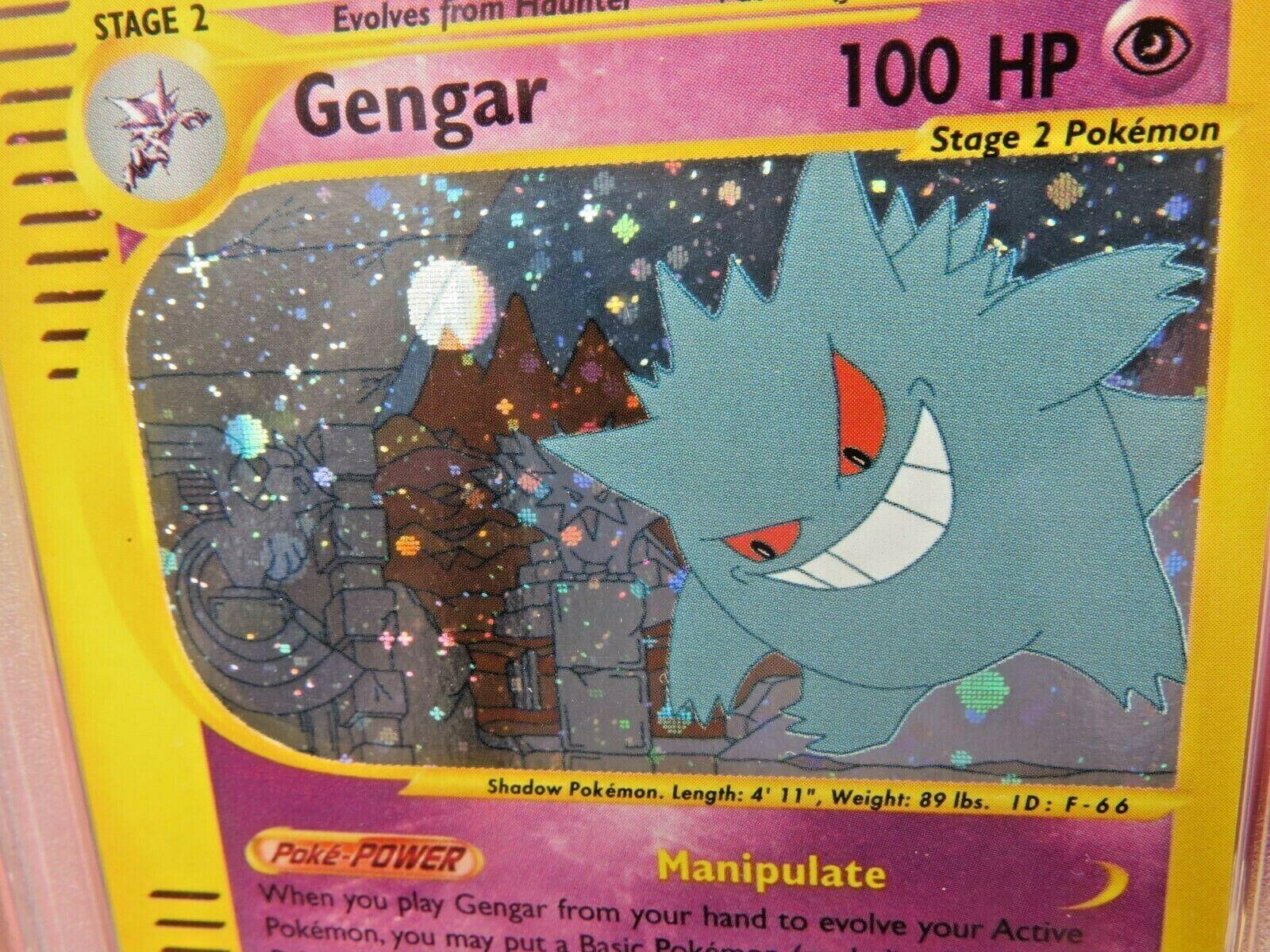 Pokemon Card  Skyridge Holo H9 Gengar PSA 10 Mint
