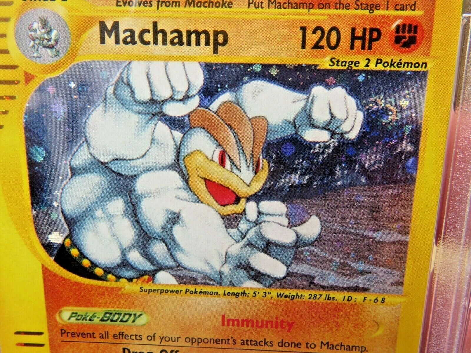 Pokemon Card  Skyridge Holo H15 Machamp PSA 10 Gem Mint