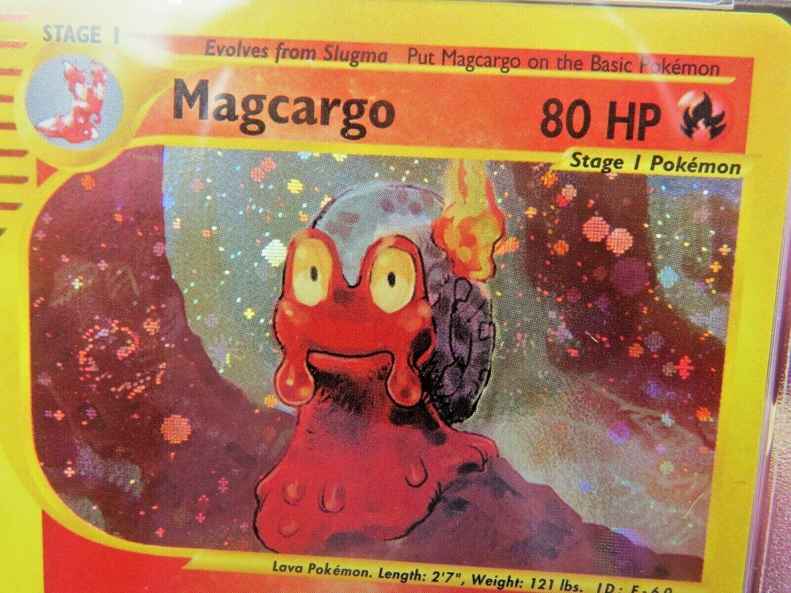 Pokemon Card  Skyridge Holo H16 Magcargo PSA 9 Mint