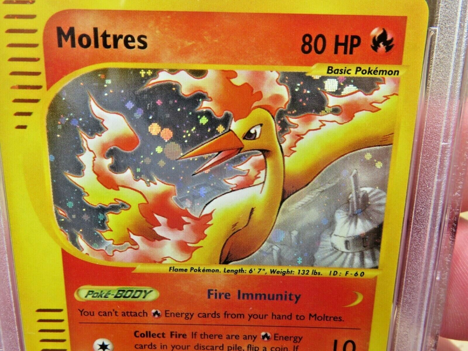 Pokemon Card  Skyridge Holo H20 Moltres PSA 10 Gem Mint
