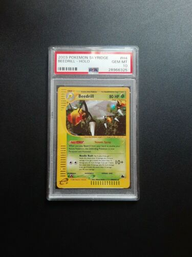 2003 Pokemon Beedrill Holo H4H32 Skyridge PSA Gem Mint 10