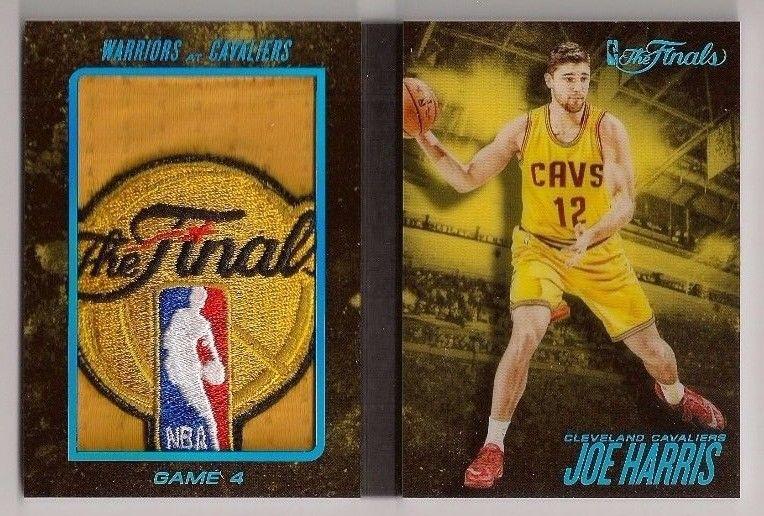JOE HARRIS 201516 PREFERRED FINALS SUPER PRIME NBA LOGOMAN LOGO PATCH BOOK 11