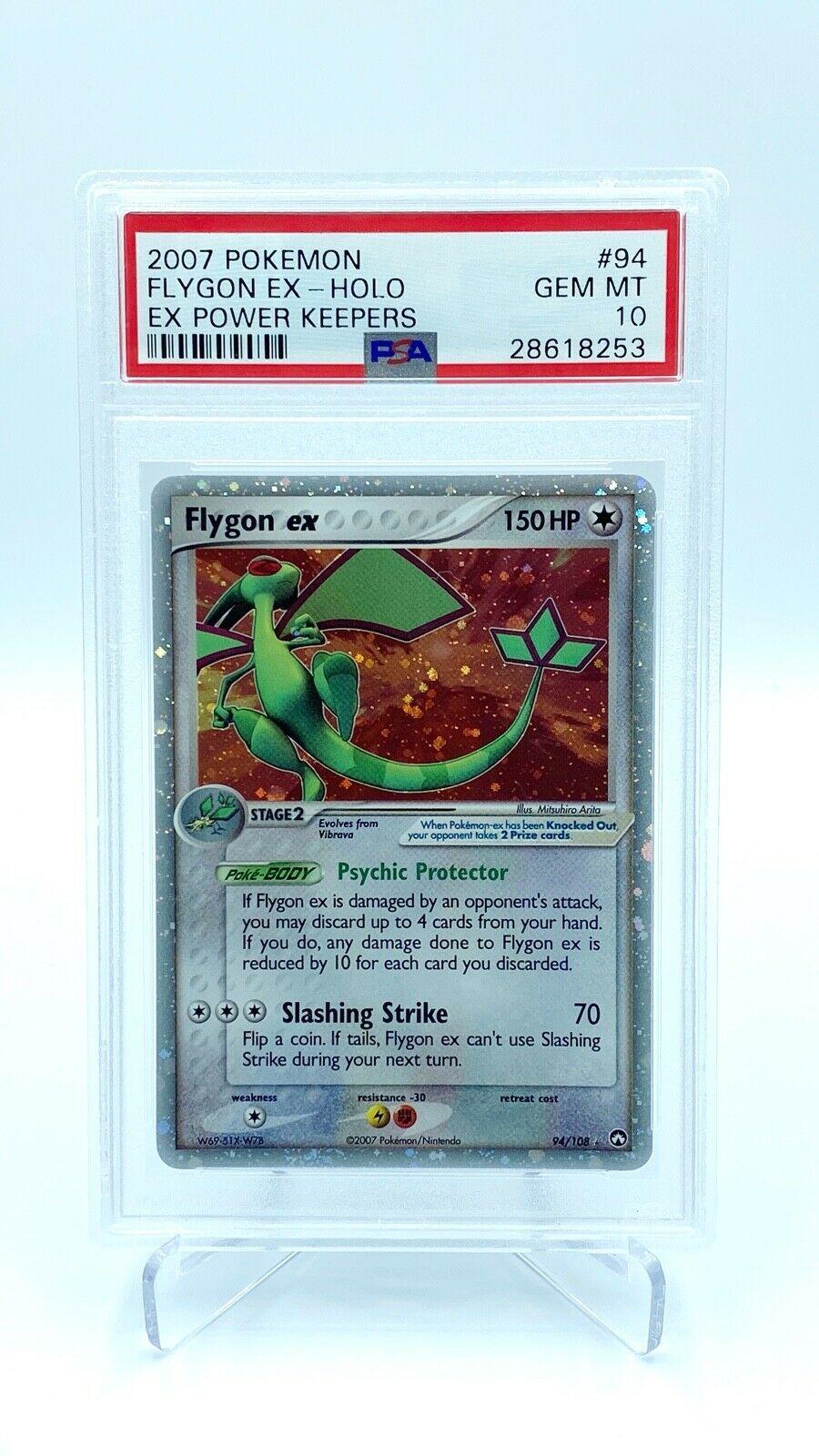 Flygon EX Holo PSA Gem Mint 10  Pokemon Card  EX Power Keepers