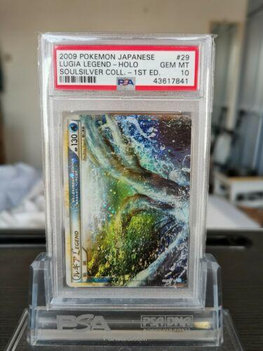 Pokemon Lugia Legend Card Japanese PSA 10 SoulSilver 1st ED 029070 Gem Mint