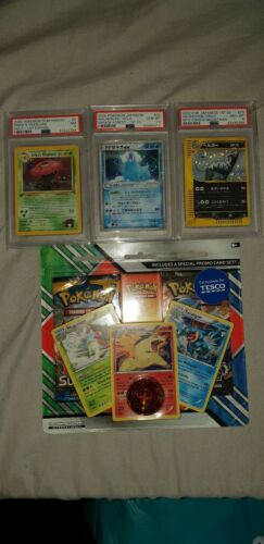 POKEMON PSA 10 8 7 ALL 1ST EDITION    OUT OF PRINT SEALED BLISTER
