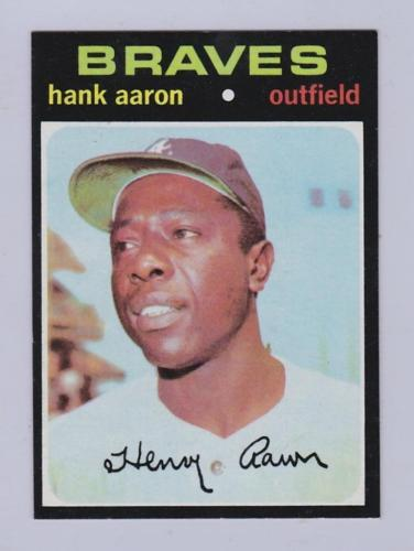 1971 Topps Baseball Card Lot 500 Card w Stars Lot 240