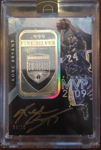 201415 Eminence Finals MVP Signatures KOBE BRYANT Ounce 999 SILVER Auto 0410
