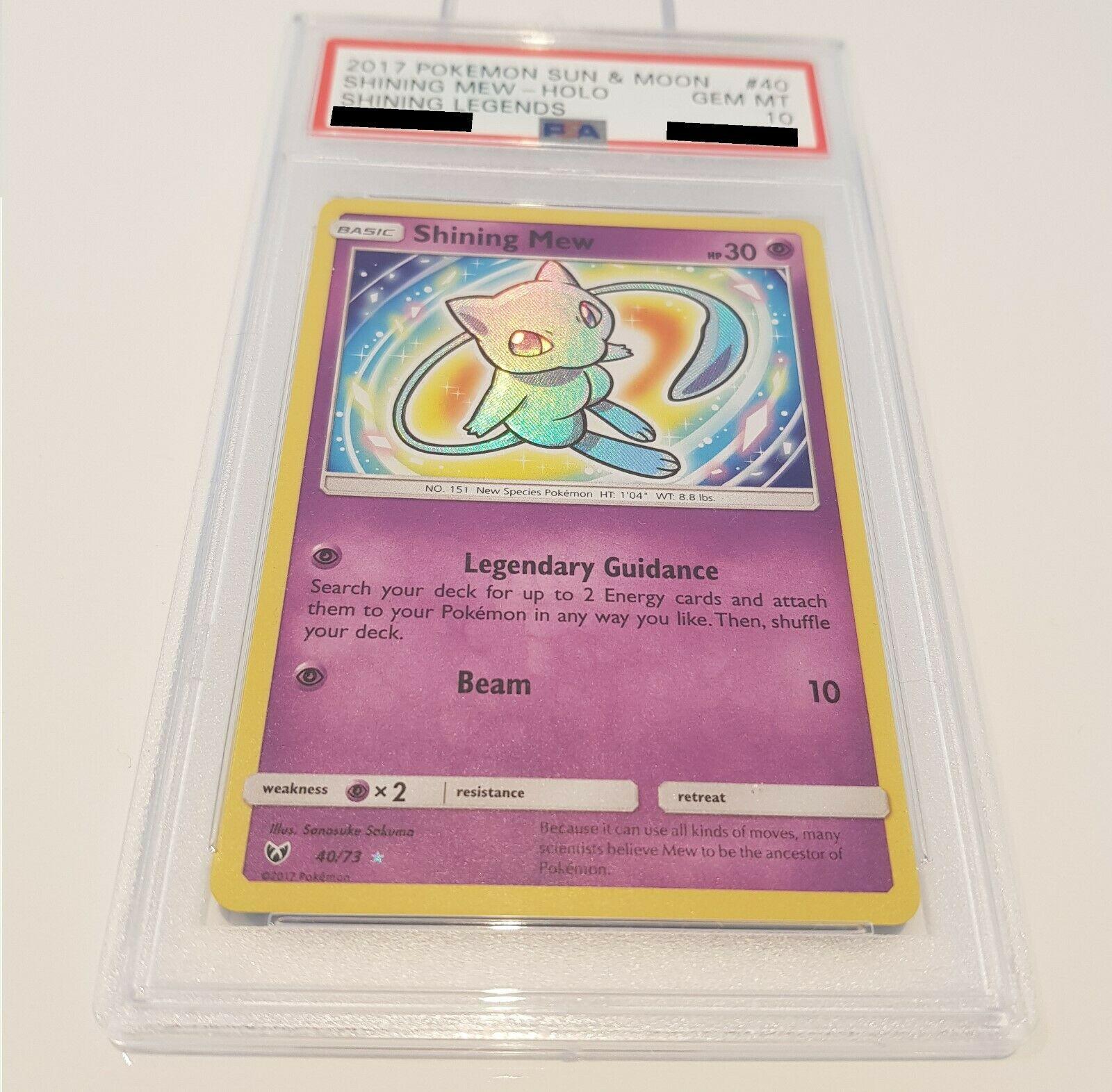 Pokemon Karte Shining Mew PSA 10 Gem Mint 4073 Schimmernde Legenden