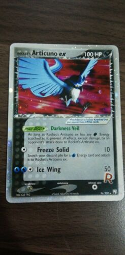 PSA 10 Rockets Articuno EX Team Rocket Returns Pokemon Holo Shiny 96109
