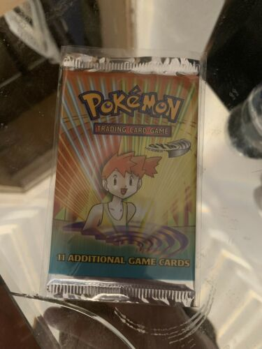 Unweighed FACTORY SEALED Pokemon Gym Heroes Booster Pack PSA