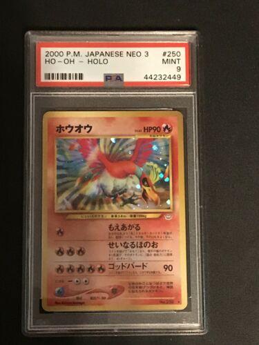 Pokemon Japanese Neo 3 Neo Revelation Psa 9 Ho Oh Holo