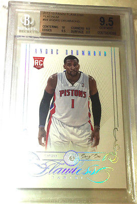 1213 Flawless Andre Drummond Rookie RC Diamond 11 one of one BGS 95 Platinum