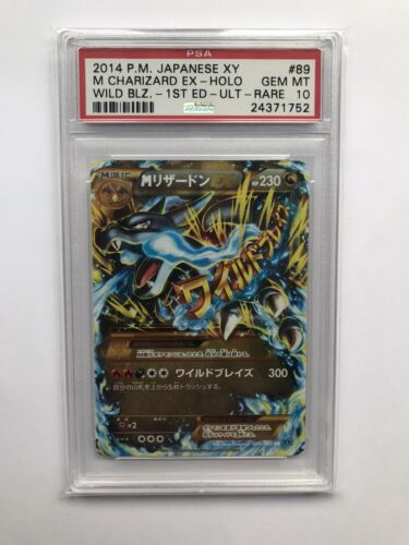 Pokemon Japanese 2014 XY 1st Edition Ultra Rare Mega Charizard PSA Gem Mint 10