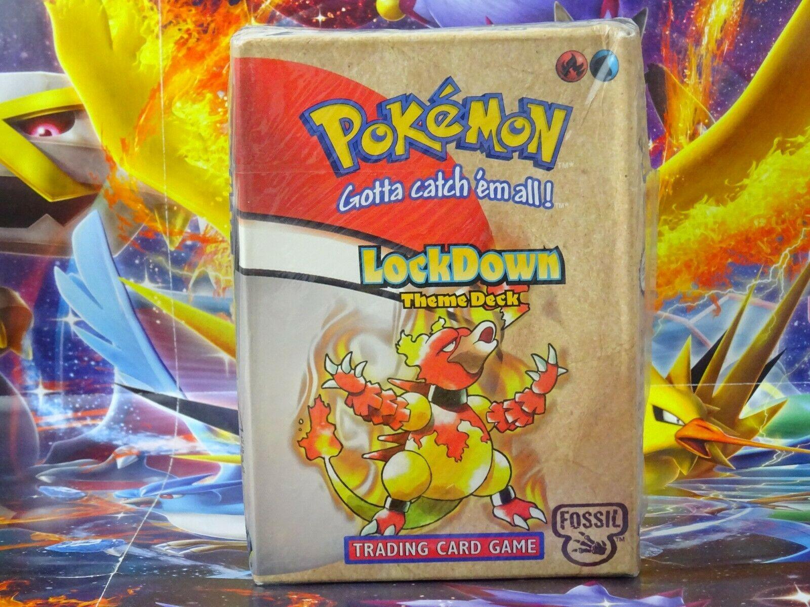 Pokmon Fossil LockDown Theme Deck SEALED PSA OVP Pokemon Base Themendeck